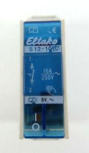Eltako S12-100 Obscénité Interrupteur | 250 V/16 A-ter | 250v / 16a Fr-fr Afficher Le Titre D'origine Avec Des MéThodes Traditionnelles