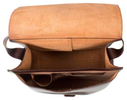 BROW REAL LEATHER MESSENGER BAG// SATCHEL BAG //RUGGED SADDLE LEATHER LAPTOP BAG