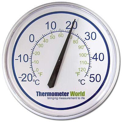 Obbiettivo Termometro Esterno Grande Muro Per Esterni Giardino Veranda Serra Indoor-in-036- Eccellente (In) Qualità