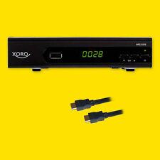 HD Sat Receiver Xoro 8559 USB HD Mediaplayer Full HDTV + HDMI Kabel digital mkv