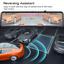 "miniatura 7 - TOGUARD 4K Dual Dash Cam Front Rear GPS Mirror Car Dash Cam 12 ""Cámara táctil ES"