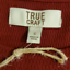 thumbnail 7 - True Craft Thermal Long Sleeves Shirt Burgundy Red Size Jr S