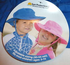 88ff4d3006e Sun Protection Zone Kids Safari Sun Hat - Blue (938151) for sale ...