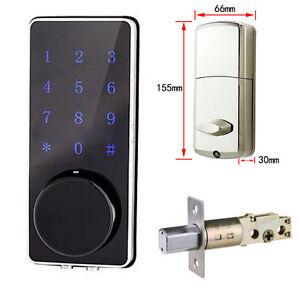 Beau Image Is Loading Security Keyless Remote Lock Door Lock Smart Code