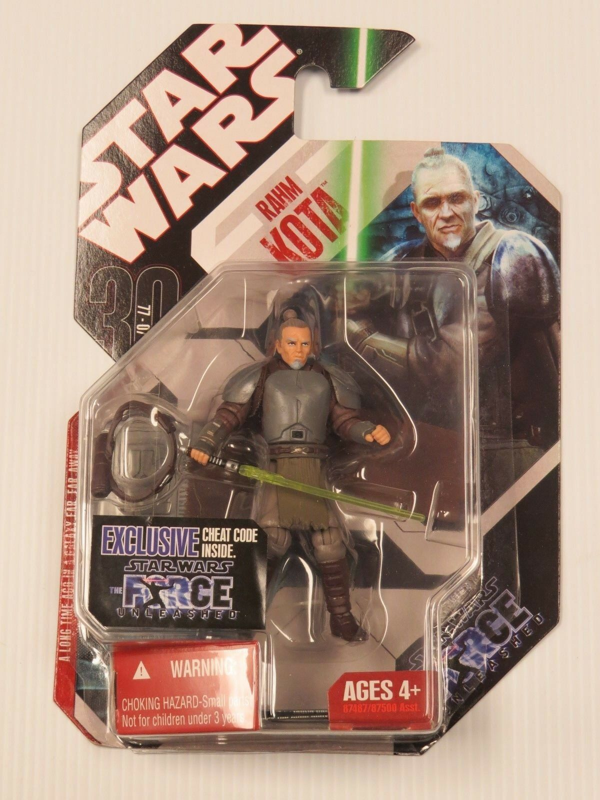 STAR WARS RAHM KOTA 30TH ANNIVERSARY ACTION FIGURE W/ COIN SEALED