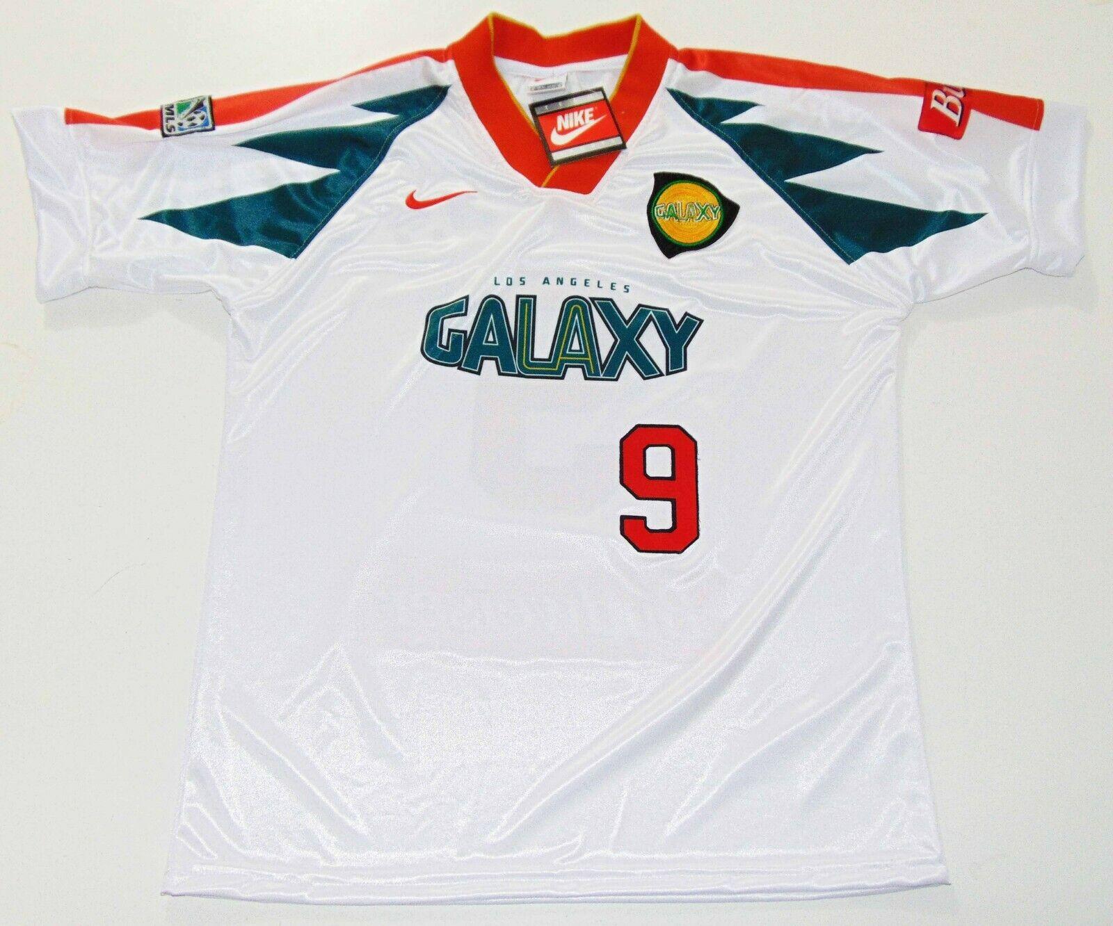 e48fc2888 Los Angeles Galaxy 1996 Jorge Campos Away Jersey Cobi Jones Cienfuegos Shirt  MLS