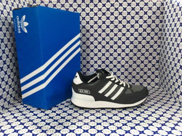 Dettagli su Scarpe Adidas Uomo ZX 750 WV Bluette Nero BY9276