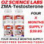 From-14-95-ZMA-Zinc-Magnesium-Vit-B6-Testosterone-Booster-AUST-MADE thumbnail 4