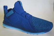 Puma Enzo Knit Blue Men Walking Shoes 10
