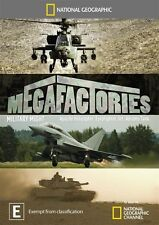 National Geographic - Megafactories - Military Might (DVD, 2012)  Brand New, D56