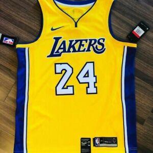 Details about Nike Kobe Bryant Jersey LA Los Angeles Lakers Yellow Gold  AQ2109 Swingman sz 3xl