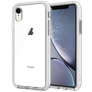 low priced 4f957 93894 Details about JETech Case for iPhone XR 6.1-Inch Shock-Absorption Bumper  Case Cover Clear Back