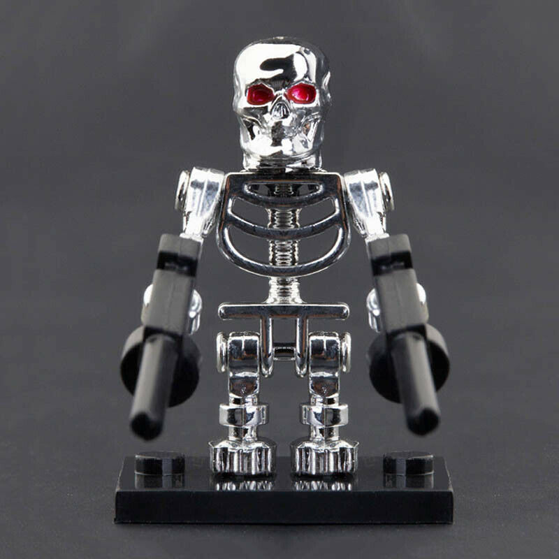 TERMINATOR 3 CHROME MINIFIGURE FIGURE USA SELLER NEW IN PACKAGE