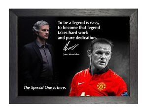 59-Jose-Mourinho-Manchester-United-Motivazionale-Citazione-Firmato-Calcio-Poster