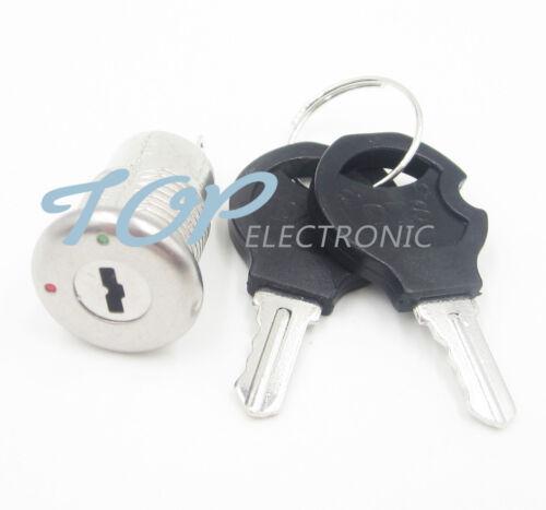 5PCS S1203 Security Power Locks Phone Lock Electronic Key Switch key Lock Keys