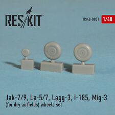 Reskit - 48-0031 - Jak-7/9, La-5/7, Lagg-3, I-185, Mig-3 (wheels set) - 1:48