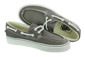 Zapato Vans Del Skate Pewter White ShoesEbay Barco oWredCxB