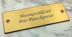 MESSINGSCHILD-Tuerschild-rechteckig-115x40mm-mit-Ihrer-Wunschgravur