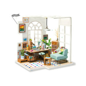 Doll-House-with-Accessories-and-Furniture-Wooden-Room-Model-Kits-Gifts