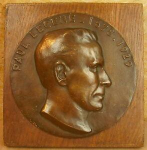 Locket Portrait Of Paul Lecene By Pierre Fix-Masseau 20 CM To 1930