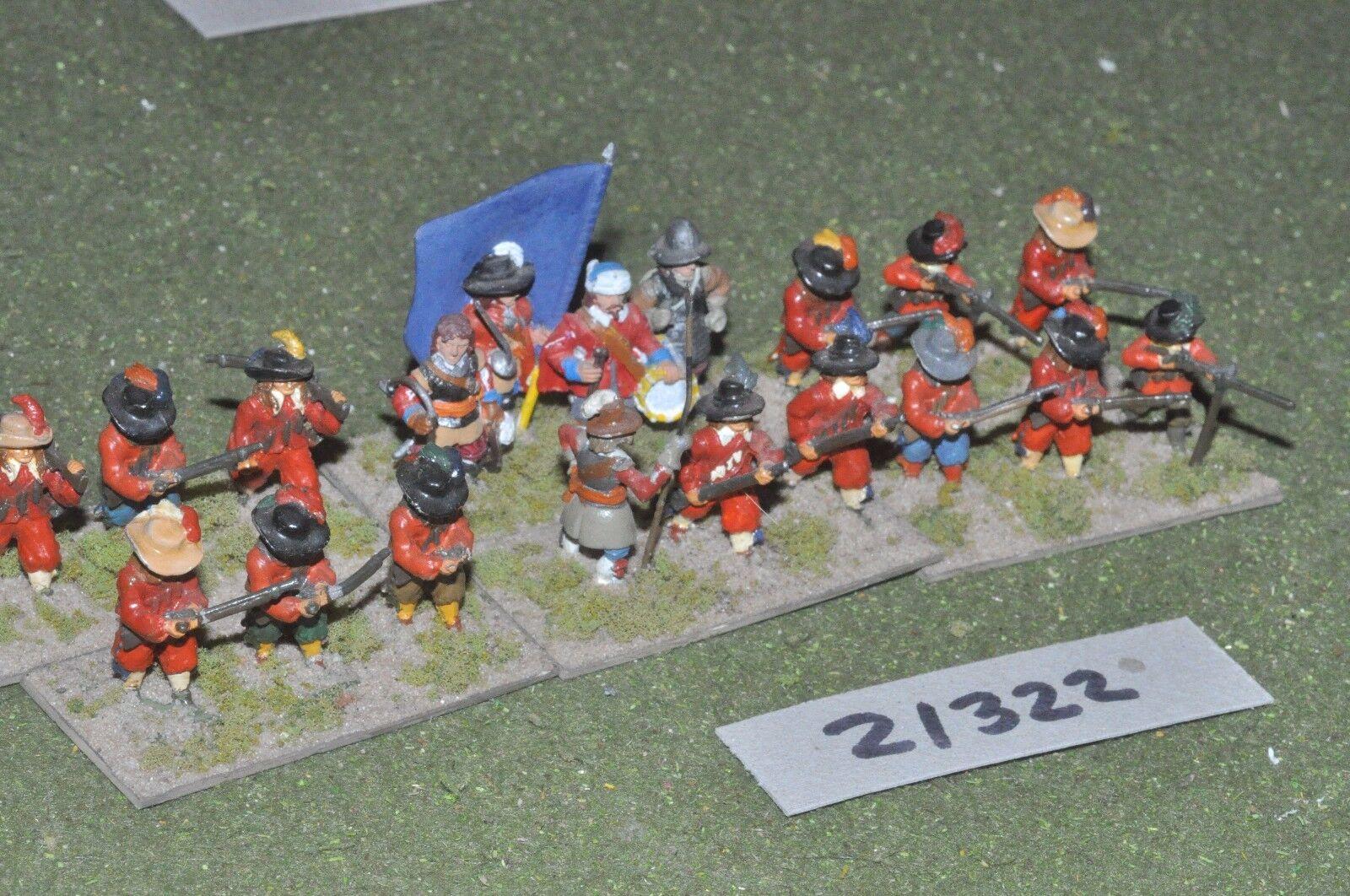 25mm ECW   english - civil war infantry - inf (21322)