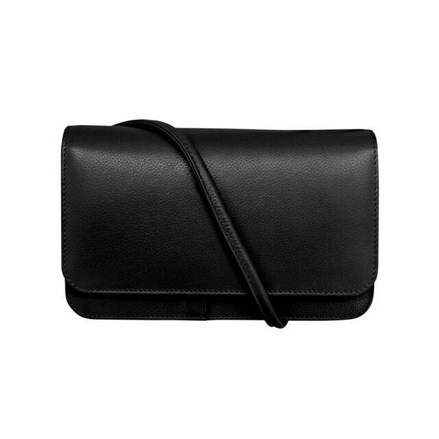 8bf25c43605c ILI Women's Leather Crossbody Bag With Organizer