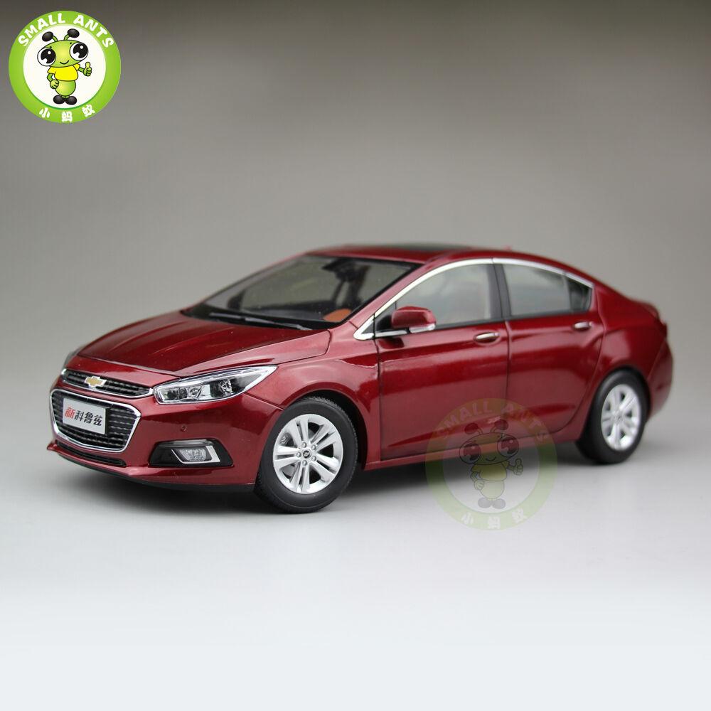 Chevrolet Cruze 2018 Nuevo Modelo automóvil de fundición Rojo