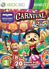 CARNIVAL Games in Action (Xbox 360 Game 2011 PAL) FREE UK P&P
