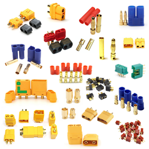 Conector-Gold-xt30-xt60-xt60u-xt60l-xt90-xt90s-ec2-ec3-ec5-ec8-T-Dean-MPX-HXT-TRX