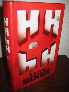 1st-Edition-HHhH-Laurent-Binet-PRIX-GONCOURT-First-Printing-NOVEL-Fiction