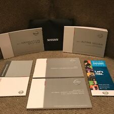 2017 nissan altima sedan owners manual book set with case oem books rh ebay com nissan altima owners manual 2017 nissan altima owners manual 2009