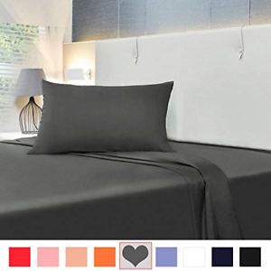 Allo Microfiber Sheet Set, Soft and Breathable Bed Set, Wrinkle, Fade, and Stain