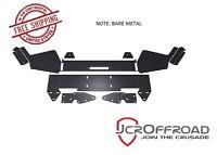 Jcr Offroad Diy Front Winch Bumper - Bare Metal - 84-01 Jeep Cherokee Xj