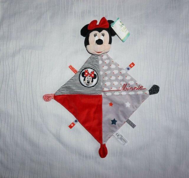 Nicotoy Disney Minnie Mouse Maus Schmusetuch Kuscheltuch Schnuffeltuch NEU