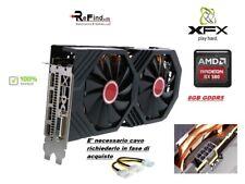 SCHEDA VIDEO GRAFICA PCI EXPRESS XFX AMD Radeon RX 580 8GB GTS OC+ GDDR5 GAMING
