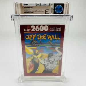 Off the Wall - Atari 2600 Red Box 1989 Factory Sealed Graded NIB WATA 9.0 A++