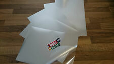10 Premium Matt SILVER A4 Self Adhesive Inkjet Printable Film Sticker Sheets
