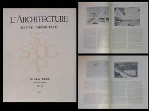 Rechercher Des Vols L'architecture 1936 Piscine Trouville, Stade Maisons Alfort, Marchisio, Rabat
