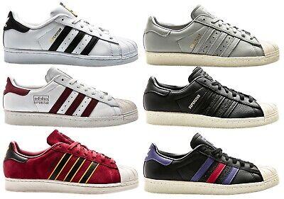 Adidas Superstar 80s Clean Blanc Blanc Homme Baskets Chaussures Homme Chaussures eBay eBay
