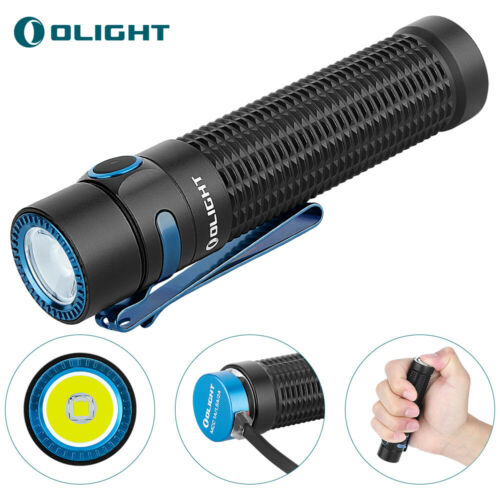 OLIGHT Warrior mini Max 1500 lumen EDC Magnetic Rechargeable Light Dual Switches
