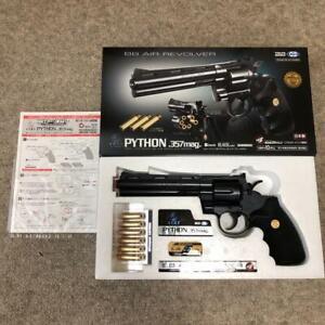 Tokyo-Marui-Colt-Python-357-Magnum-Black-Model-Air-soft-Hand-Gun-6-inches-NEW