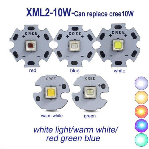 1PCS 10W Universal Cree XML2 LED puce LED COB élèvent lumière Haute puissance