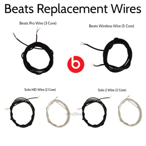 Beats-By-Dre-Main-Internal-Wire-Parts-Pro-Solo-2-HD-Studio-Executive-Wireless-1