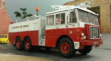 Scale 1:76 HO/OO/00 Thornycroft Nubian Airport Airfield Rescue Fire Engine Model