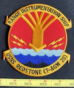 USNS Redstone T-AGM 20 Military Embroidered Iron On Patch