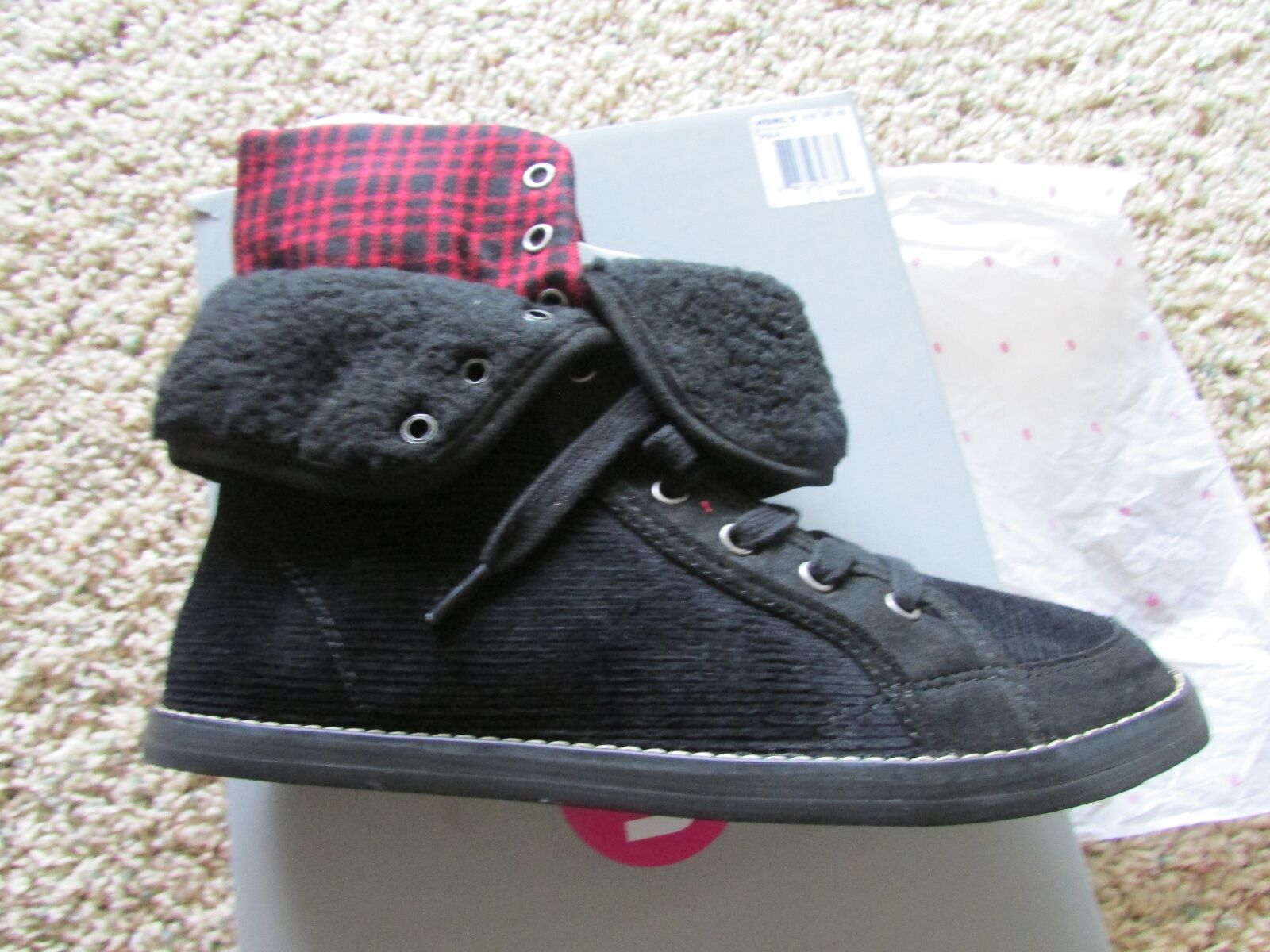 NEW ROCKET DOG UNLEASHED SHOOTIES BOOTIES BOOTS SHOES SHOE BOOTS WOMENS 6 BLACK