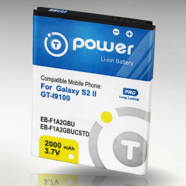 2000mAh Samsung Galaxy S2 S II GT-I9100 EB-F1A2GBU CELL phone Battery Korean