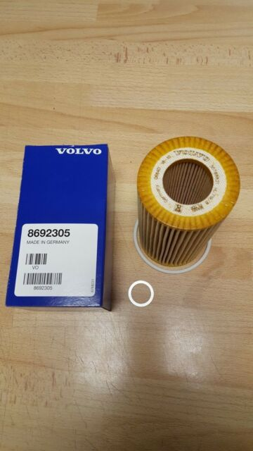 Genuine Volvo OILF Filtro SUMIDERO ENCHUFE ARANDELA Inc 8692305 C70 S40 V50 C30 S80 XC9