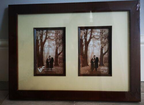 M 2x 6x4s et Mme Double Cadre Photo en Noyer 16 X 12 in environ 30.48 cm
