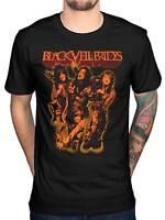 Official Black Veil Brides Shhh T-Shirt Rock Band Wild Ones Skull Set On Fire